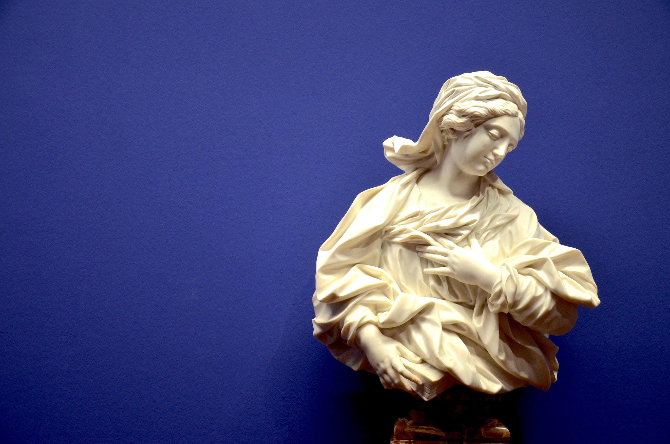 sculpture at a new museum exhibit at the albertina